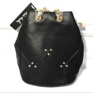 Pink Haley Bucket Bag Drawstring Chain